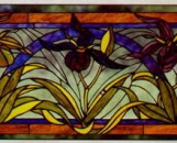 Tiffany Stained Glass Flora Designs Ladyslipper