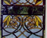 Tiffany Stained Glass Flora Designs Waterlily