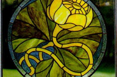 Tiffany Stained Glass Flora Designs I