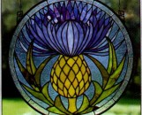 Tiffany Stained Glass Flora Designs II