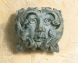 Decorative Greenman Face