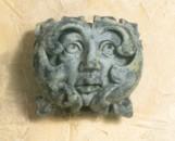 Decorative Greenman Face