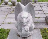 Large Resting Granite Gargoyle