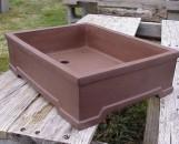 Lotus Bonsai Pot Matte Finish Large Standard