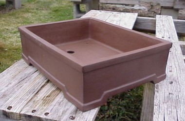 Lotus Bonsai Pot Matte Finish Large Standard