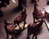 Giraffe Small Wood