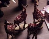 Giraffe Small Wood