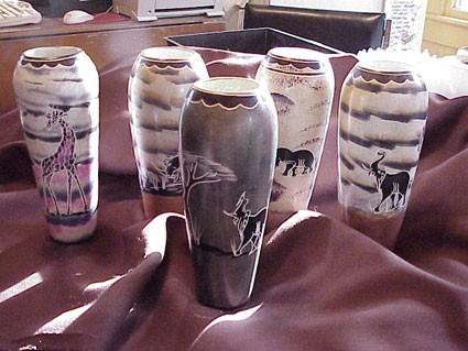 Africa Soapstone Vase Glasshouse Works
