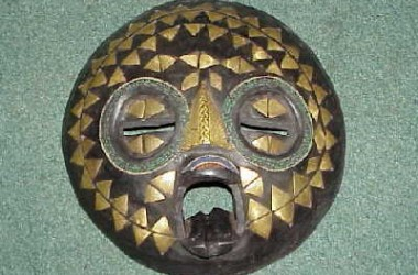 African [Ghana] Moon Mask [Sm]