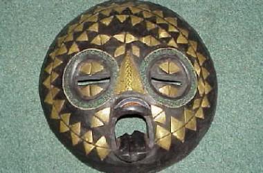 African [Ghana] Moon Mask [Sm]