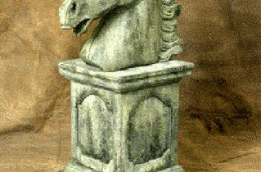 Classical Statue: Horsehead