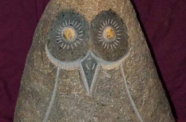 Owl Rolling Stone Large