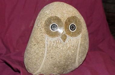 Owl Rolling Stone Medium