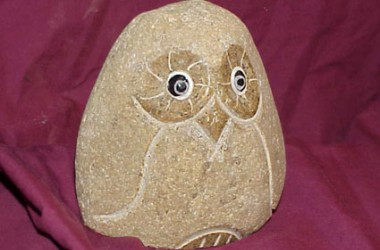 Owl Rolling Stone Small