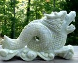 Chinese Marble Dragon Sculpture