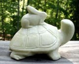 Chinese Marble Turtle And Rabbit
