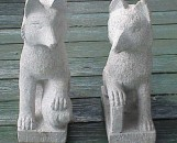 Chinese Granite Foxes