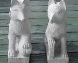Chinese Granite Foxes