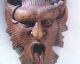 The Green Man in Mahogany