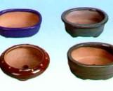 """Lotus 4 1/2"""" Bonsai Pots"""