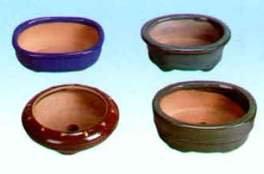 "Lotus 4 1/2"" Bonsai Pots"