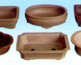 Lotus Matte Finish Bonsai Pots