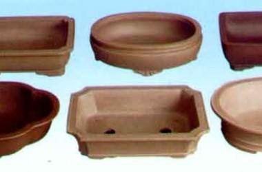 Lotus Matte Finish Bonsai Pots