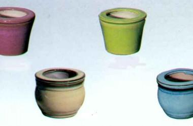 Lotus Medium Self Watering Pot